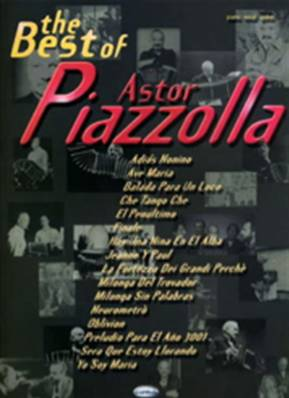 The best of Piazzola / Piano Chant Guitare