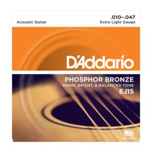 D'Addario EJ15 (10-47) Extra-Light