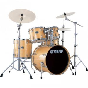 "Yamaha SBP0F5NW Stage Custom Fusion 20"" 5 Fûts (Natural Wood)"