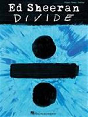 Ed Sheeran - Divide Piano, Chant et Guitare