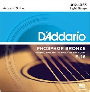 D'Addario EJ16 (12-53) Light