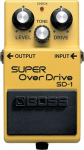 Boss SD-1 (Effet Super Overdrive)