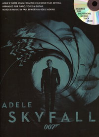 ADELE SKYFALL (JAMES BOND 007) PVG + CD