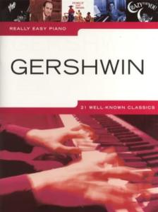 GERSHWIN REALLY EASY PIANO 21 STANDARDS