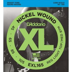 D'Addario EXL165 (45-105) Regular Light Top