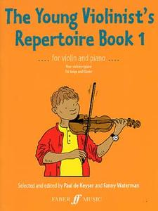 DE KEYSER - THE YOUNG VIOLINIST'S REPERTOIRE BK 1 POUR VIOLON ET PIANO