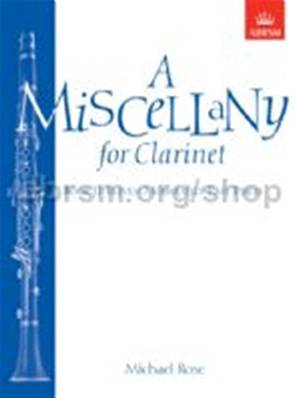 Rose, Michael: A Miscellany for Clarinet, Book II