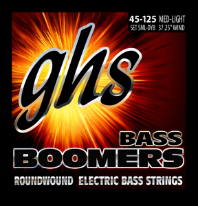 GHS Boomers (45-125) Medium Light 5 Cordes