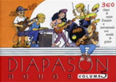 Diapason rouge volume 5 Partition - Paroles et Accords