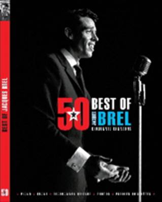 Jacques BREL - Best of.... 50 chansons PVG