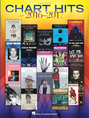 Chart Hits of 2016-2017 / Piano facile