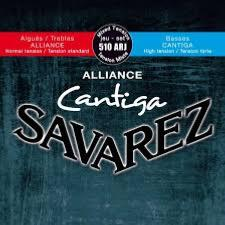 Savarez 510ARJ (Basses : Forte / Aigues : Normale) Alliance Cantiga