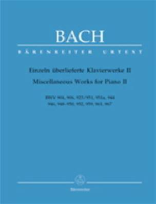 Bach - Miscellaneous Works vol. 2