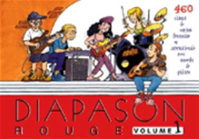 Diapason rouge volume 1 Partition - Paroles et Accords