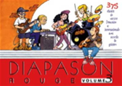 Diapason rouge volume 3 Partition - Paroles et Accords