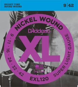 D'Addario EXL120 (9-42) Super Light