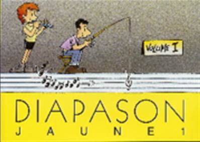 Diapason jaune volume 1 Partition - Paroles et Accords