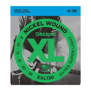 D'Addario EXL130 (8-38) Extra Super Light