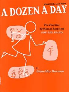 BURNAM Edna-Mae - A dozen Book 4 (orange)