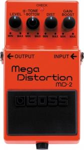 BOSS MD-2 (Effet Mega Distortion)