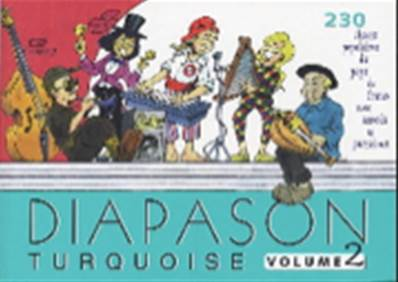 Diapason turquoise volume 2 Partition - Paroles et Accords