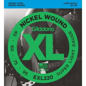D'Addario EXL220 (40-95) Super Light Gauge