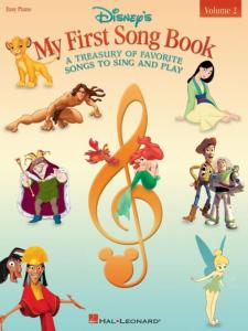 DISNEY My first songbook volume 2 (Piano Facile/Guitare/Chant)