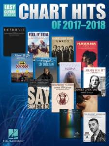 Chart Hits of 2017 - 2018 Easy Guitar avec Notes et TAB