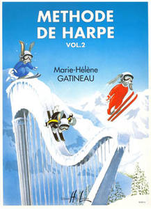 M.H.GATINEAU - METHODE DE HARPE VOL.2