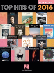 Auteurs divers - Top Hits Of 2016 - Easy Piano