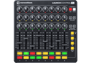 Novation LAUNCH-CONTROL-XL-B (Controleur 24 POTS, 8 FADERS, 16 PADS)