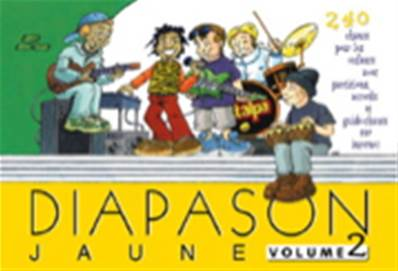 Diapason jaune volume 2 Partition - Paroles et Accords
