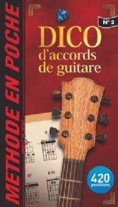DICO ACCORDS DE GUITARE Coll.Music en Poche 2