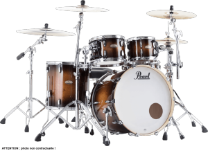 "Pearl STS924XSPC-314 Session Studio (Rock 22"" 4 fûts Gloss Barnwood Brown)"
