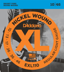 D'Addario EXL110 (10-46) Regular Light