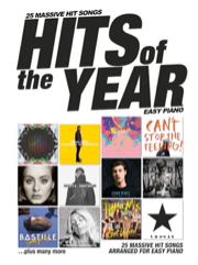 Auteurs Divers - Hits Of The Year 2016 - Easy Piano