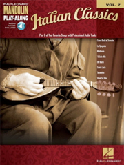 Auteurs divers - Italian Classics, Mandolin Play-Along Volume 7