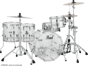 "Pearl Crystal Beat Rock 22"" 5 Fûts"