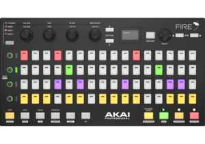 Akai Pro FIRE  (Pour Fruity Loops - Matrice 4 x 16 pads RVB 4 potentiomètres)