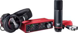 Focusrite SCARLETT3-STUDIO (Carte Son)