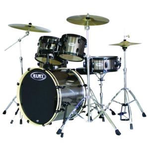 "Occasion Mapex Horizon HX 5 Fûts 20"" + Set Stagg"