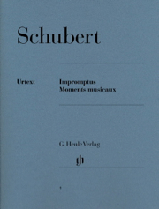 SCHUBERT - IMPROMPTUS . MOMENTS MUSICAUX POUR PIANO