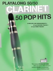 Playalong 50/50 - Clarinet - 50 Pop hits