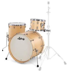 "Ludwig NeuSonic (USA) 3 Fûts Rock 22"" Sugar Maple"