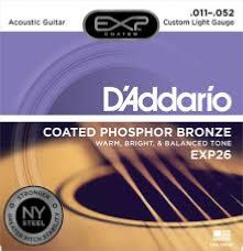 D'Addario EXP26NY (11-52) Custom-Light