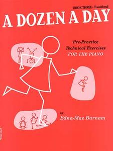 BURNAM Edna-Mae - A dozen a day Book 3 rose