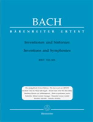 Bach - Inventions et Sinfonies
