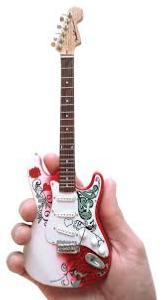 Guitare Collection (Jimmy Hendrix Monterey Strat)