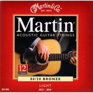 Martin M190 (12-54) Light 12 Cordes