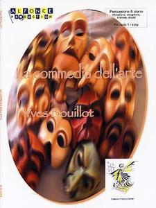 BOUILLOT Yves - La Commedia dell'arte pour percussions (xylophone, vibraphone, timbales, tricoti) et